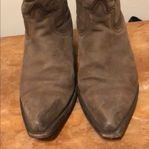 Steve Madden Shoes - Grey/brown cowboy boots
